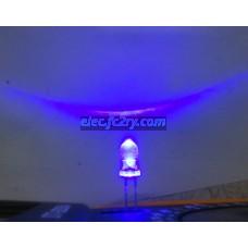 LED 5 มม. ซุปเปอร์ไบรท์ น้ำเงิน