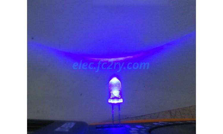 LED 5 มม. ซุปเปอร์ไบรท์ น้ำเงิน - Eshop อะไหล่อิเล็กทรอนิกส์