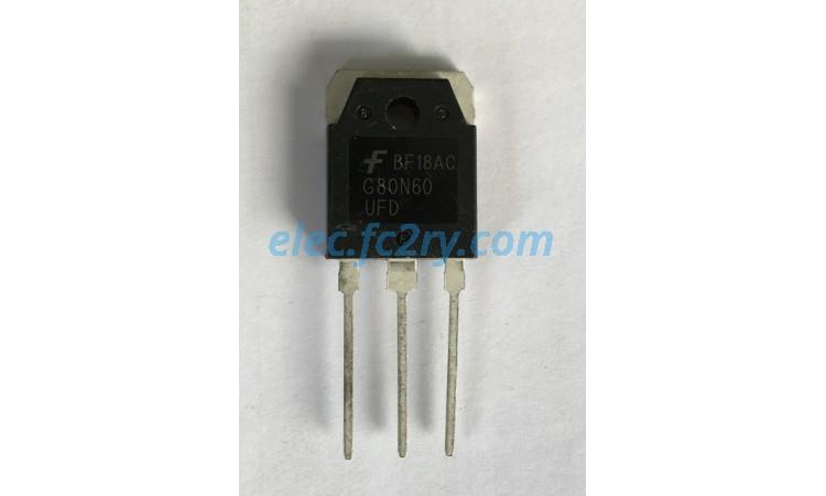 IGBT G80N60 - Eshop อะไหล่อิเล็กทรอนิกส์