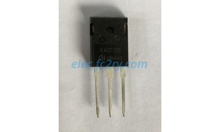 IGBT K40T120  - Eshop อะไหล่อิเล็กทรอนิกส์