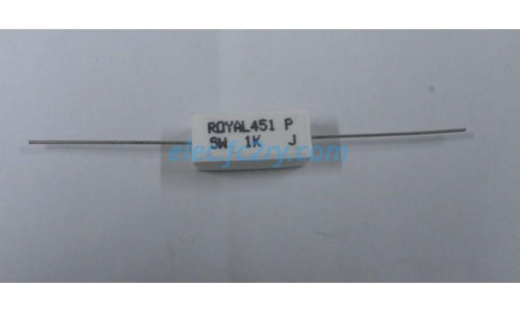 resistor 1k 5% 5w - Eshop อะไหล่อิเล็กทรอนิกส์