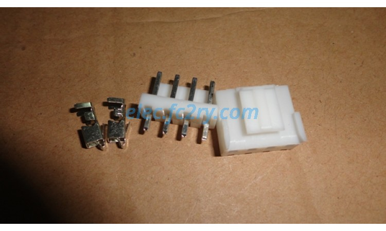 connector vh3.96 - 4pin - Eshop อะไหล่อิเล็กทรอนิกส์