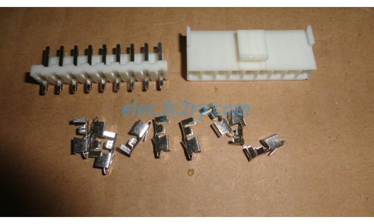 connector vh3.96 - 9pin - Eshop อะไหล่อิเล็กทรอนิกส์