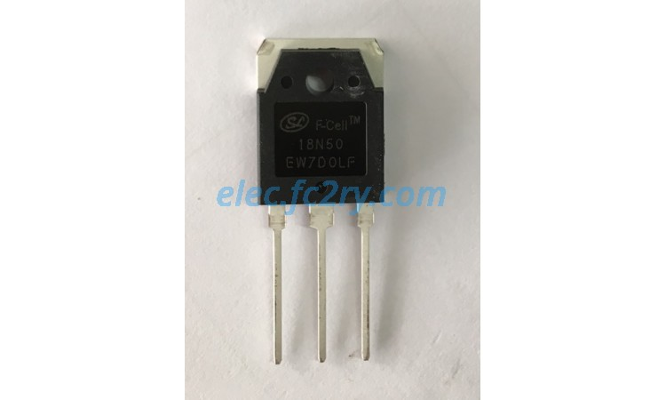 MOSFET 18N50 - Eshop อะไหล่อิเล็กทรอนิกส์