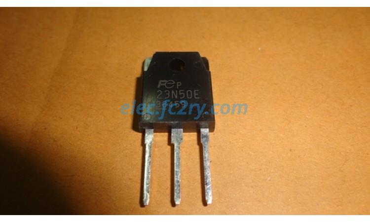MOSFET 23n50E - Eshop อะไหล่อิเล็กทรอนิกส์